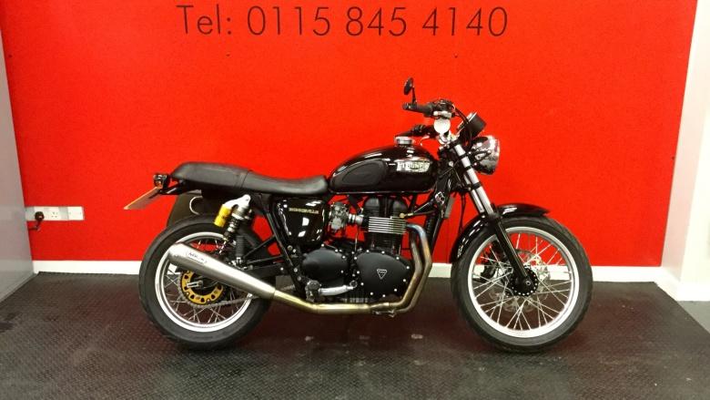 Used Triumph Bonneville Bonneville T100 07my For Sale Vertu Honda