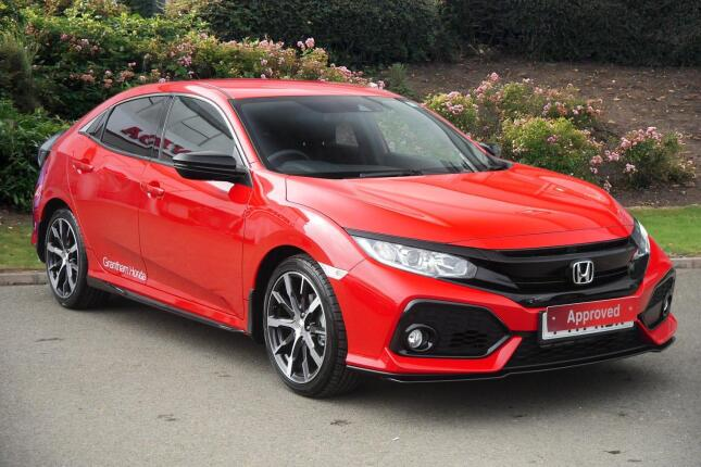 Honda Civic 1.0 Vtec Turbo Sr 5Dr Cvt Petrol Hatchback
