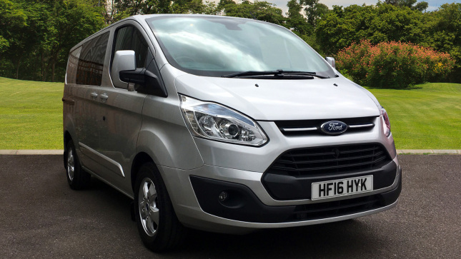 Ford Transit Custom 290 Swb Diesel Fwd 2.2 Tdci 125Ps Low Roof D/Cab Limited Van