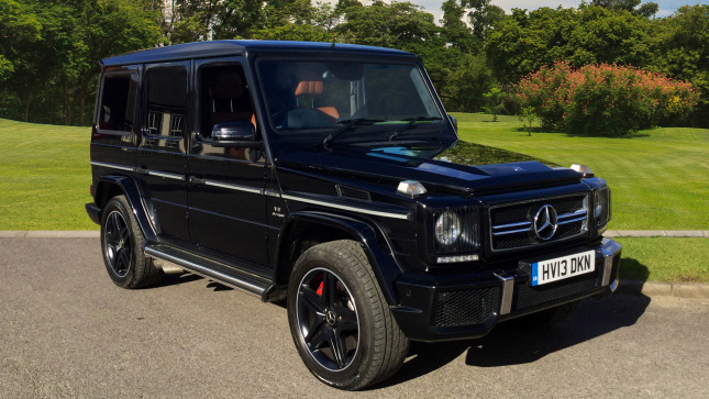 Mercedes-AMG G-Class G63 5Dr Tip Auto Petrol Station Wagon