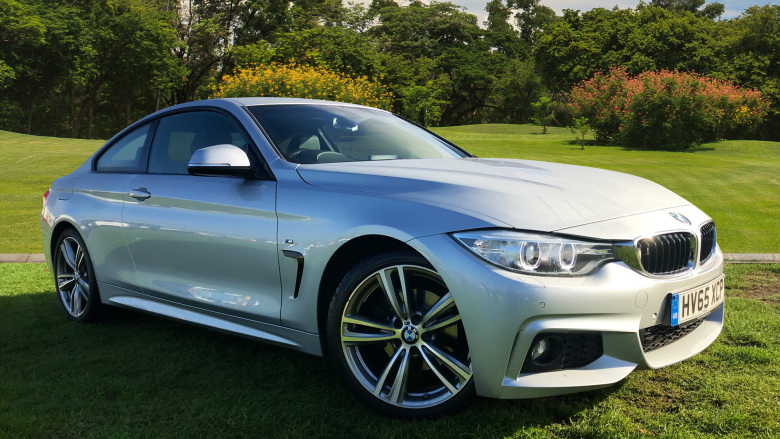 BMW 4 Series 420D [190] M Sport 2Dr Auto [professional Media] Diesel Coupe