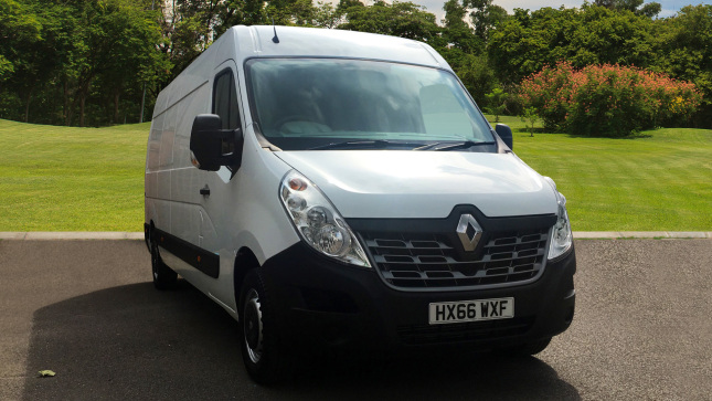 Renault Master Lwb Diesel Fwd Lm35Dci 125 Business Medium Roof Van