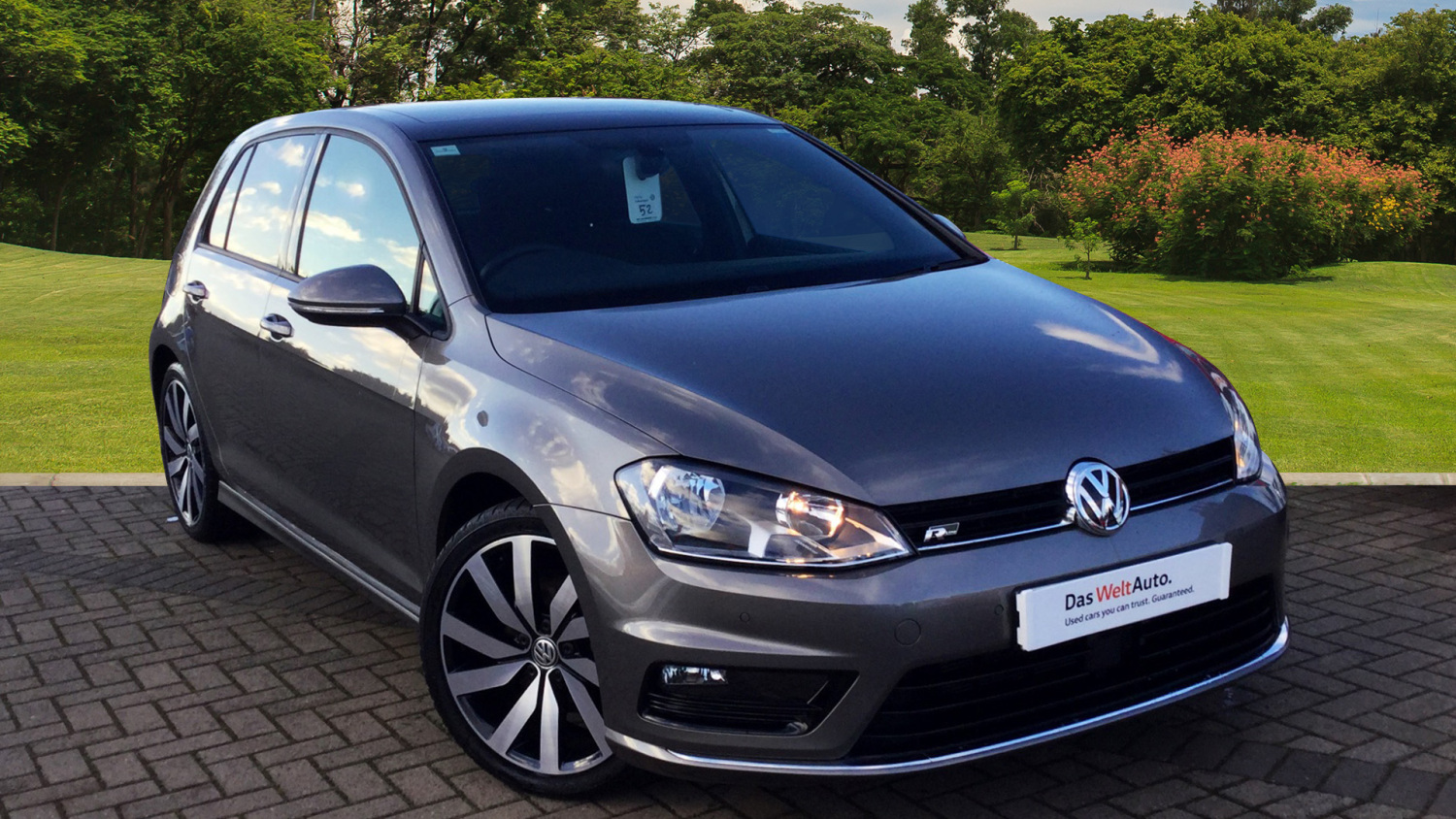 used volkswagen golf 1 4 tsi 150 r line edition 5dr dsg petrol hatchback for sale vertu honda. Black Bedroom Furniture Sets. Home Design Ideas