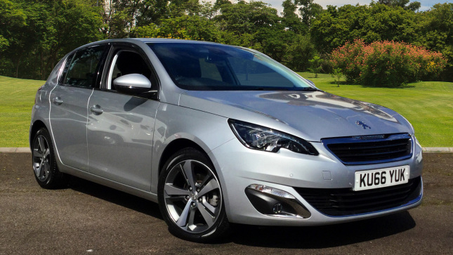 Peugeot 308 1.6 Bluehdi 120 Allure 5Dr Eat6 Diesel Hatchback