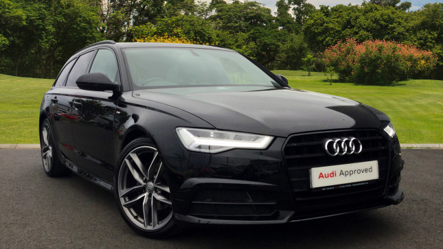 Audi A6 2.0 Tdi Ultra Black Edition 5Dr S Tronic Diesel Estate