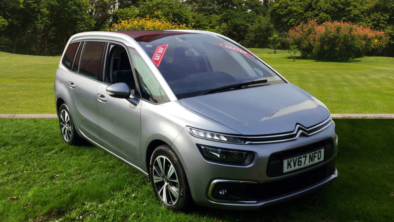 Citroen Grand C4 Picasso 1.6 Bluehdi Feel 5Dr Eat6 Diesel Estate