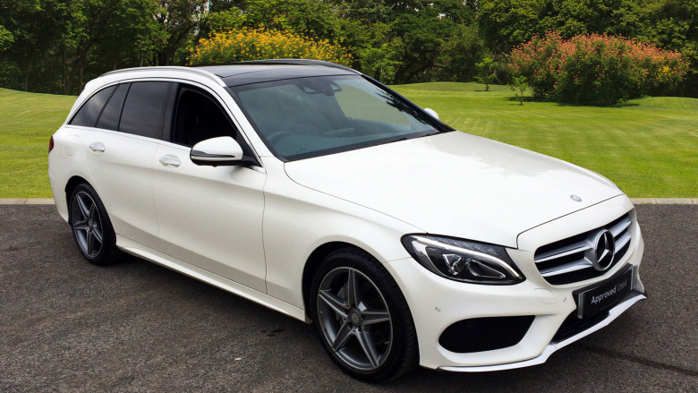 Mercedes-Benz C-Class C220d AMG Line Premium Plus 5dr Auto Diesel Estate