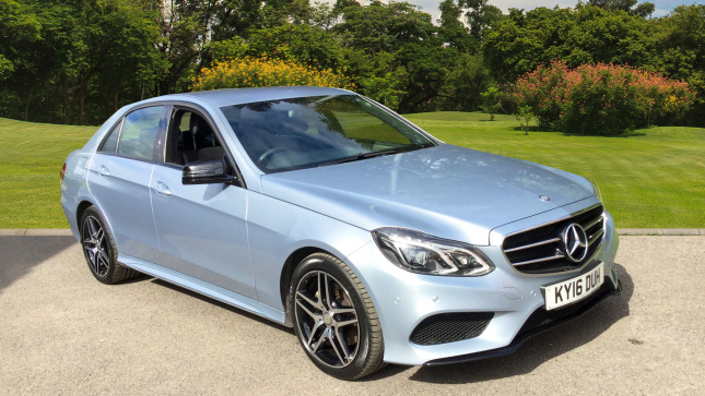 Mercedes-Benz E-Class E220 Bluetec Amg Night Edition 4Dr 7G-Tronic Diesel Saloon
