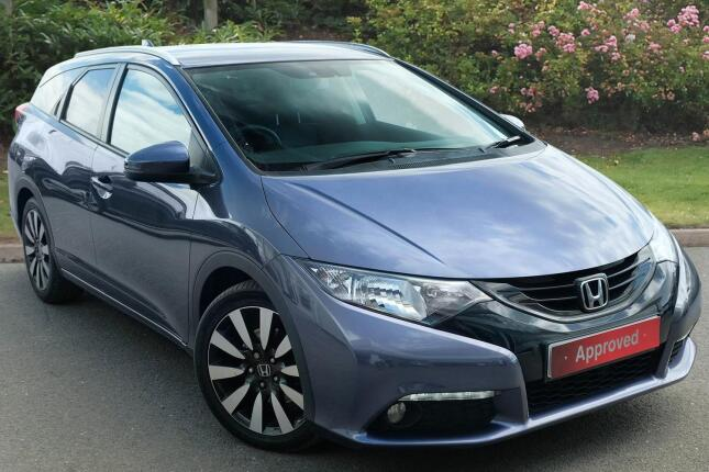 Honda Civic Tourer 1.6 I-Dtec Sr 5Dr Diesel Estate