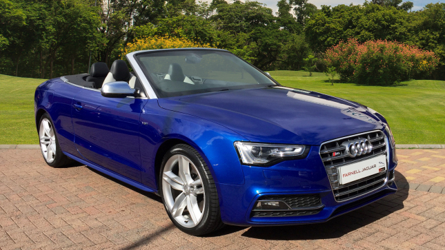 Audi A5 S5 Quattro 2Dr S Tronic Petrol Convertible