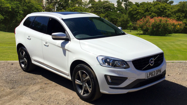 Volvo Xc60 D5 [215] R Design Lux Nav 5Dr Awd Geartronic Diesel Estate