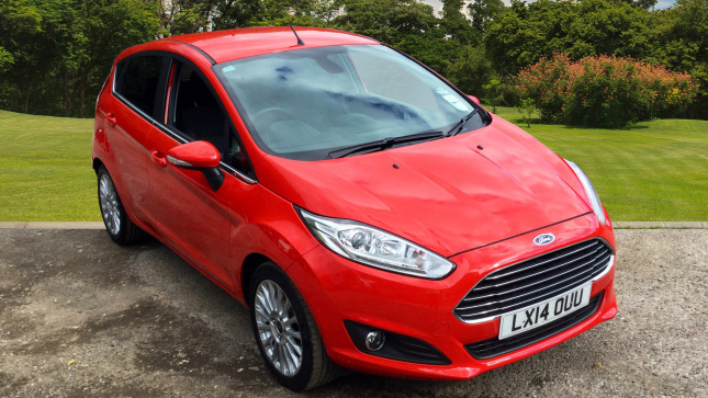 Ford Fiesta 1.0 Ecoboost Titanium 5Dr Powershift Petrol Hatchback