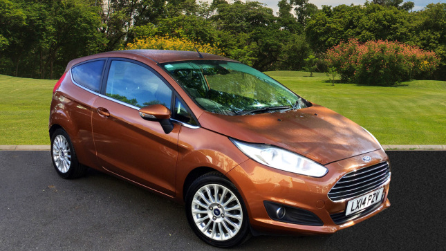 Ford Fiesta 1.0 Ecoboost Titanium 3Dr Powershift Petrol Hatchback