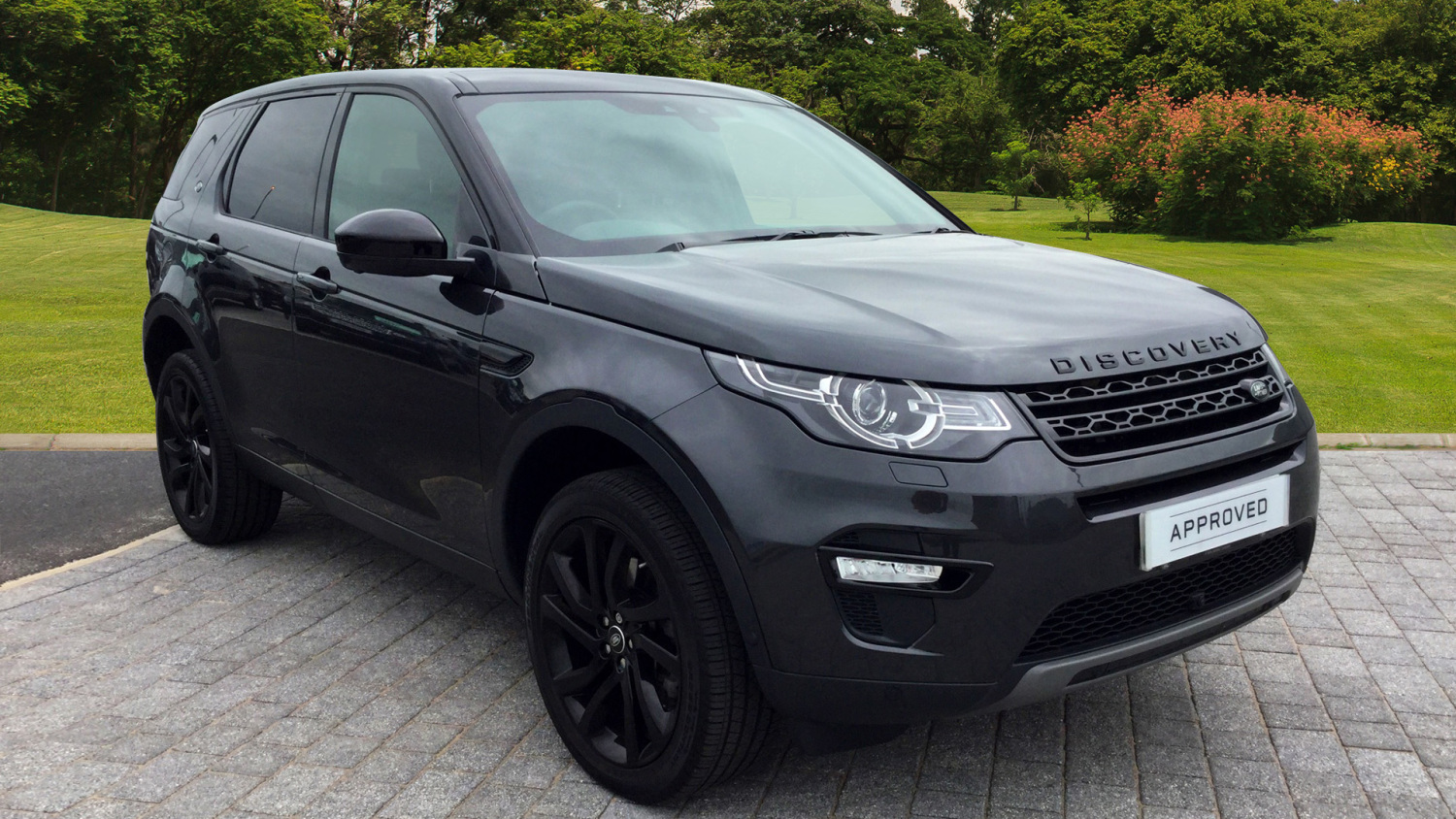 Used Land Rover Discovery Sport 2.0 Sd4 240 Hse Black 5Dr Auto ...