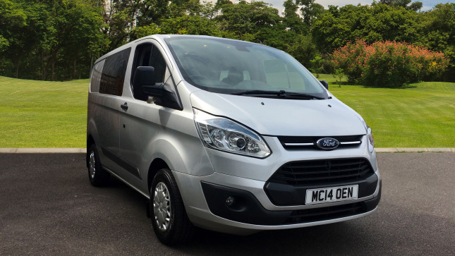 Ford Transit Custom 290 Swb Diesel Fwd 2.2 Tdci 125Ps Low Roof D/Cab Trend Van