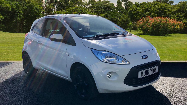 Ford Ka   Zetec White Edition Dr Petrol Hatchback