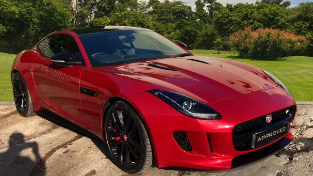 Jaguar F-Type 5.0 Supercharged V8 R 2Dr Auto Petrol Coupe