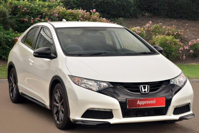 Honda Civic 1.8 I-Vtec Black Edition 5Dr Petrol Hatchback