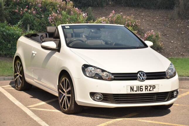 Volkswagen Golf 2.0 Tdi 150 Bluemotion Tech Gt 2Dr Diesel Cabriolet