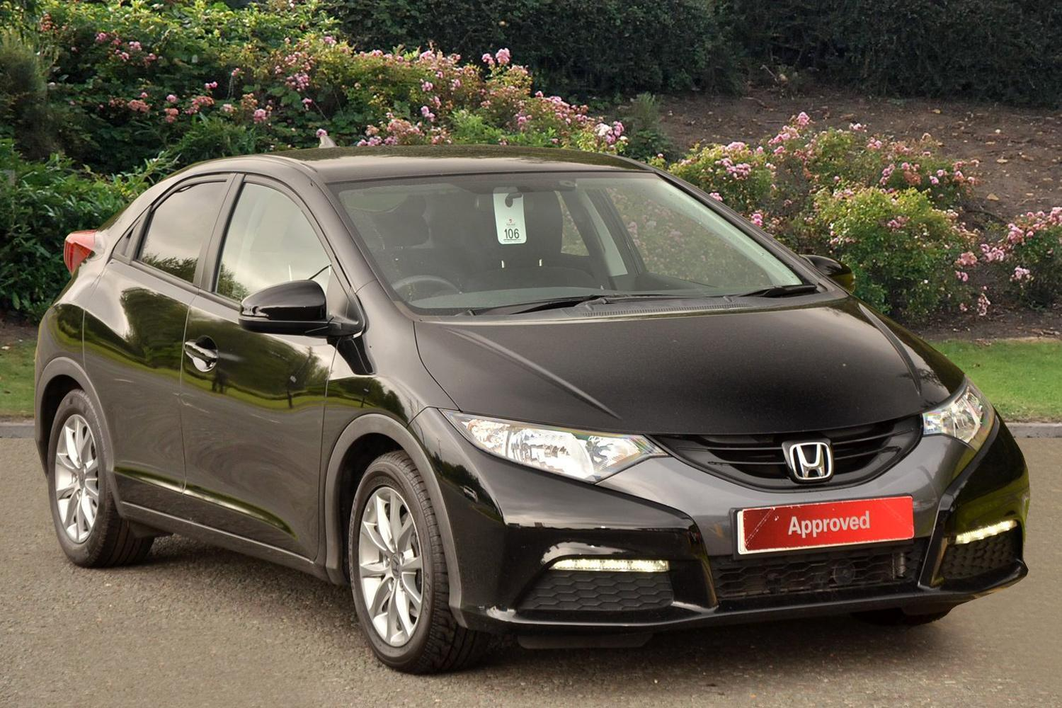 used honda civic 1 8 i vtec se 5dr auto petrol hatchback for sale vertu honda. Black Bedroom Furniture Sets. Home Design Ideas