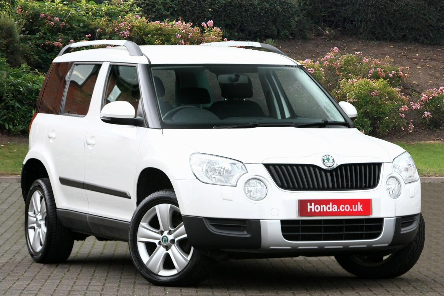 used skoda yeti 2 0 tdi cr s 4x4 5dr diesel estate for. Black Bedroom Furniture Sets. Home Design Ideas