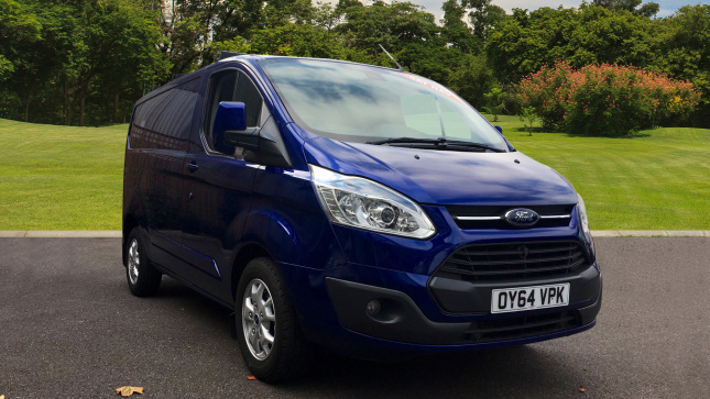 Ford Transit Custom 270 Swb Diesel Fwd 2.2 Tdci 125Ps Low Roof Limited Van