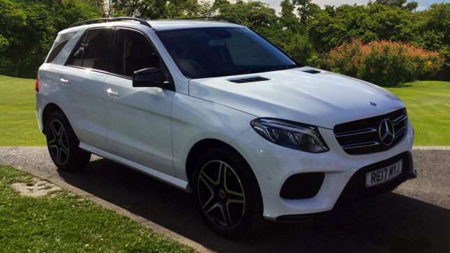 Mercedes-Benz GLE Gle 250D 4Matic Amg Line 5Dr 9G-Tronic Diesel Estate
