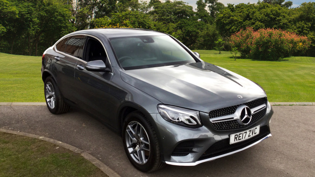 Mercedes-Benz GLC Coupe Glc 350D 4Matic Amg Line Prem Plus 5Dr 9G-Tronic Diesel Estate