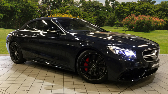 Mercedes-AMG S-Class S63 2Dr Auto Petrol Cabriolet