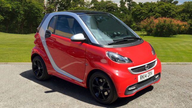 Smart fortwo Coupe Grandstyle Mhd 2Dr Softouch Auto Petrol Coupe