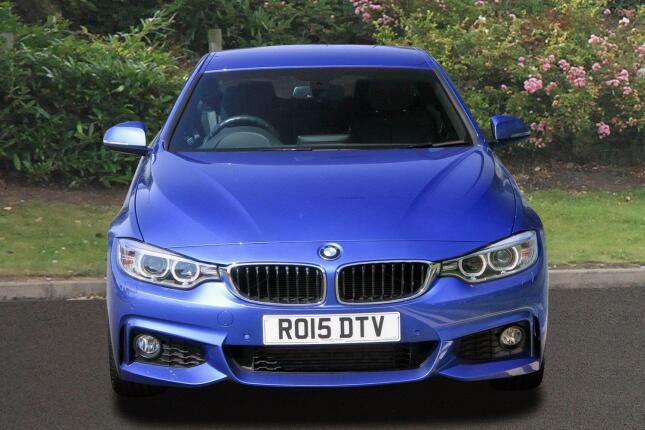 BMW 4 Series 420D [190] M Sport 2Dr [professional Media] Diesel Coupe