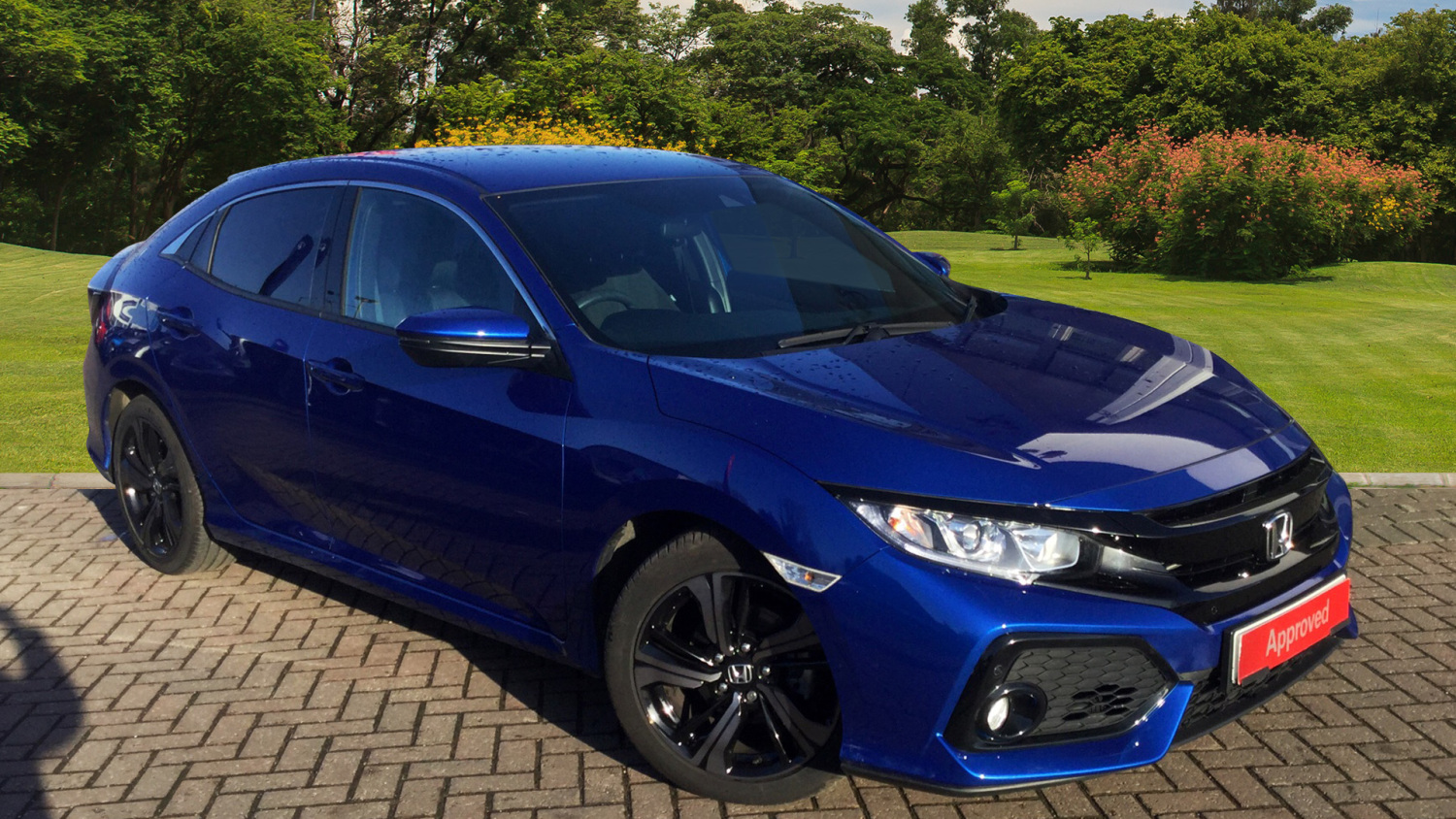 Used Honda Civic 1.0 Vtec Turbo Sr 5Dr Petrol Hatchback for Sale | Vertu Honda