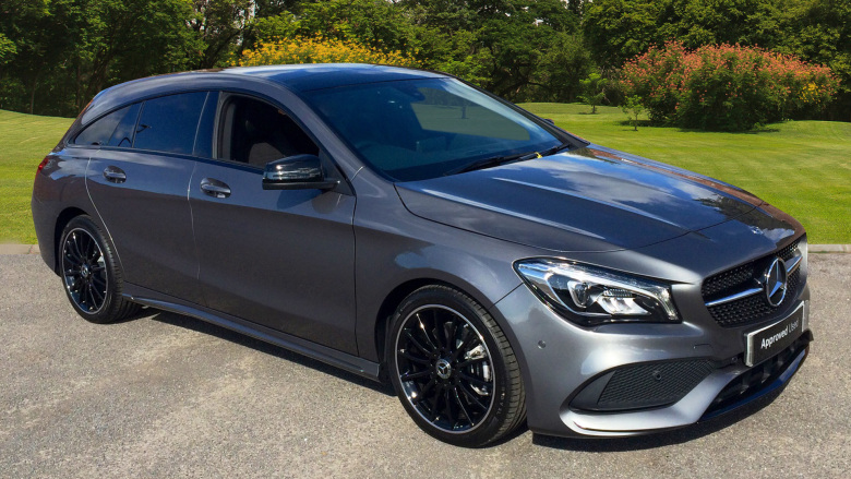 Mercedes-Benz CLA Cla 220 Amg Line Night Ed Plus 4Matic 5Dr Tip Auto Petrol Estate