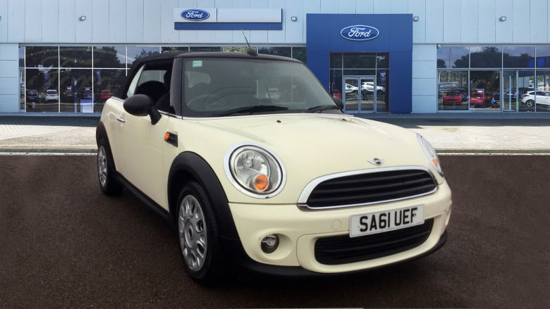Mini Convertible 1.6 One 2Dr Petrol Convertible