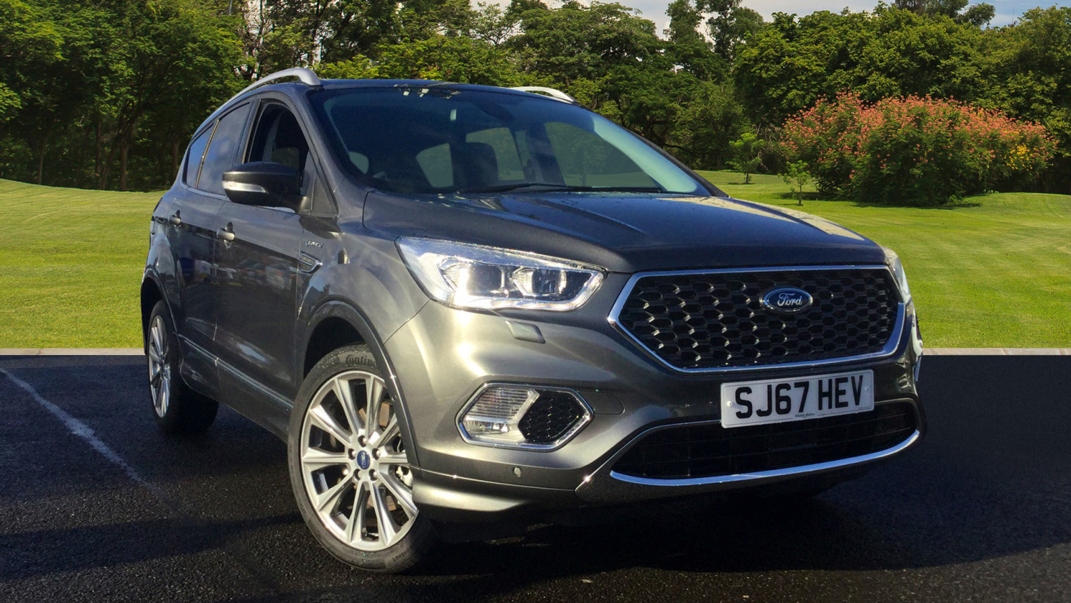 used ford kuga vignale 2 0 tdci 5dr 2wd diesel estate for. Black Bedroom Furniture Sets. Home Design Ideas