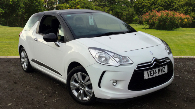 Citroen DS3 1.2 Vti Dsign Plus 3Dr Petrol Hatchback