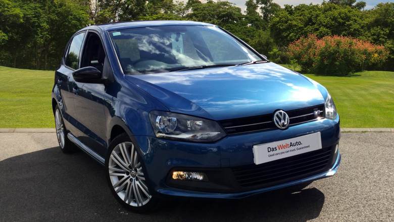 Volkswagen Polo 1.4 Tsi Act Bluegt 5Dr Dsg Petrol Hatchback