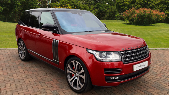 Land Rover Range Rover 5.0 V8 S/C Svautobiography Dynamic 4Dr Auto Petrol Estate