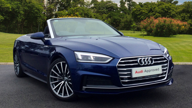 Audi A5 2.0 Tdi S Line 2Dr S Tronic Diesel Convertible