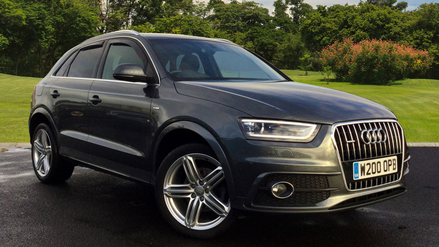 used audi q3 2 0 tdi 177 quattro s line plus 5dr s tronic diesel estate for sale vertu honda. Black Bedroom Furniture Sets. Home Design Ideas