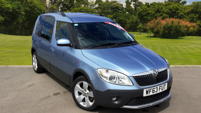 SKODA Roomster 1.6 Tdi Cr Scout 5Dr Diesel Estate