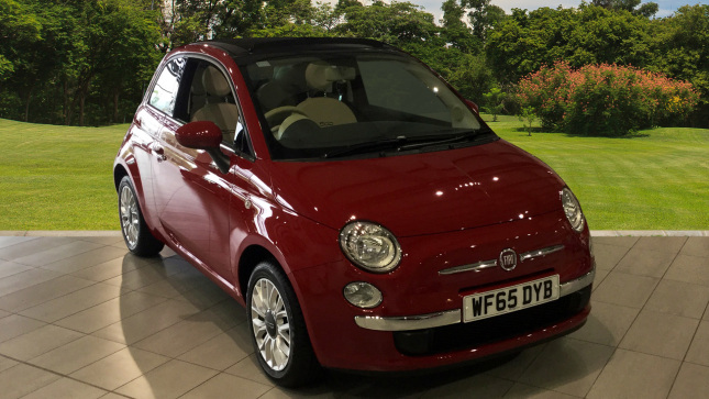 Fiat 500 1.2 Pop Star 2Dr Petrol Convertible