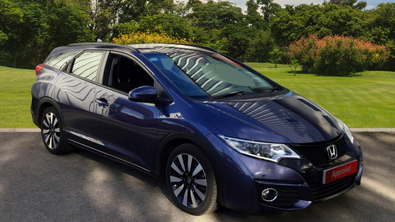 Honda Civic Tourer 1.8 I-Vtec Se Plus 5Dr Auto Petrol Estate