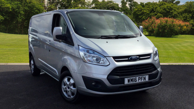 Ford Transit Custom 290 Lwb Diesel Fwd 2.2 Tdci 125Ps Low Roof Limited Van