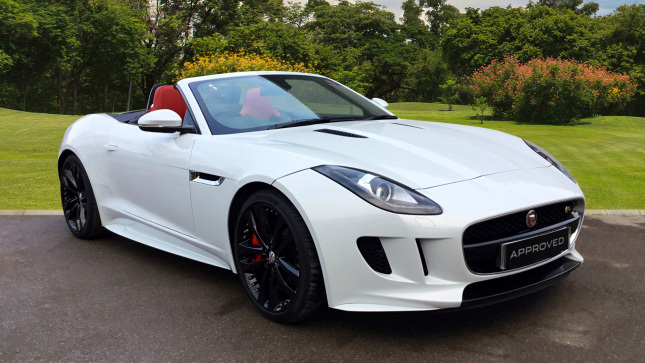 Jaguar F-Type 3.0 Supercharged V6 S 2Dr Auto Petrol Convertible