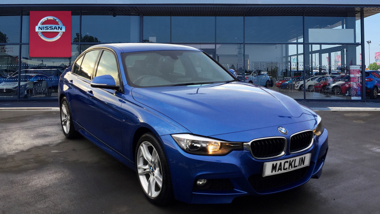 BMW 3 Series 320D M Sport 4Dr Step Auto [business Media] Diesel Saloon