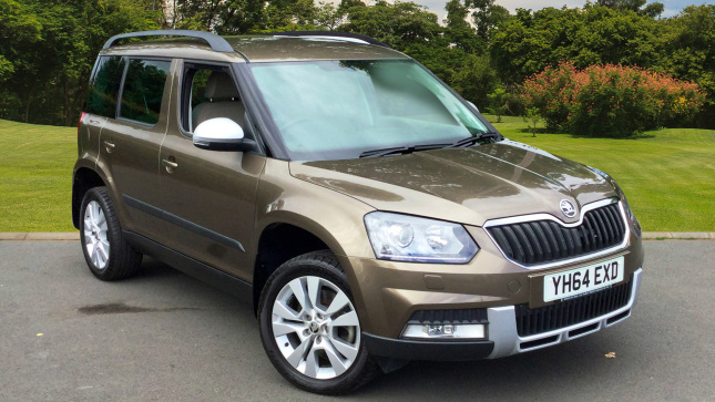 SKODA Yeti Outdoor 2.0 Tdi Cr [170] Elegance 4X4 5Dr Diesel Estate