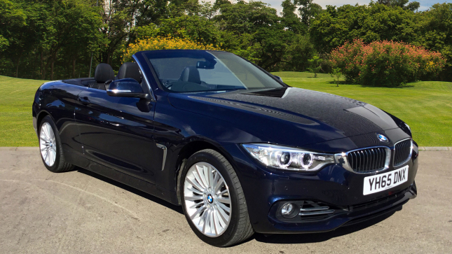 BMW 4 Series 435D Xdrive Luxury 2Dr Auto [professional Media] Diesel Convertible