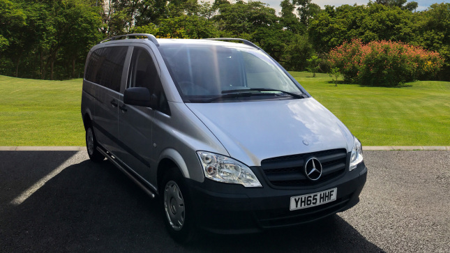 Mercedes-Benz Vito Dualiner Long Diesel 116Cdi Window Van