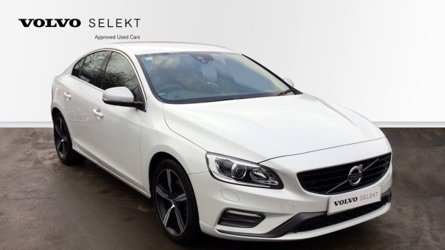 Volvo S60 D4 [190] R Design Lux Nav 4Dr [leather] Diesel Saloon